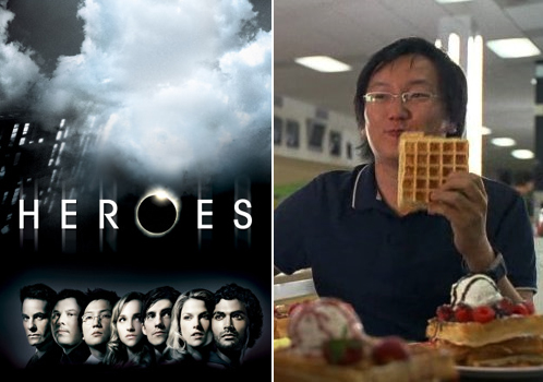 Heroes Season 4 premieres tonight; Hiro loves waffles