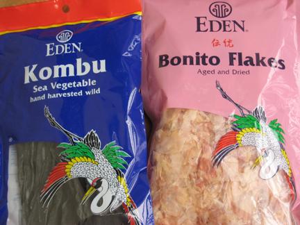Kombu and Bonito Flakes