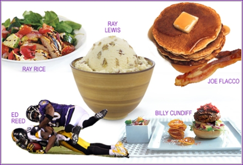 The Baltimore Ravens Favorite Foods