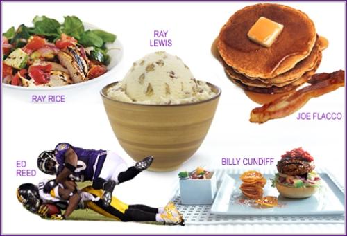 The Baltimore Ravens Favorite Foods