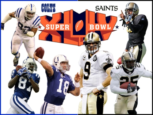 2010 Super Bowl, Colts, Saints