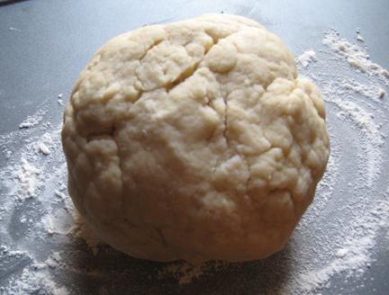 Pain au chocolat dough