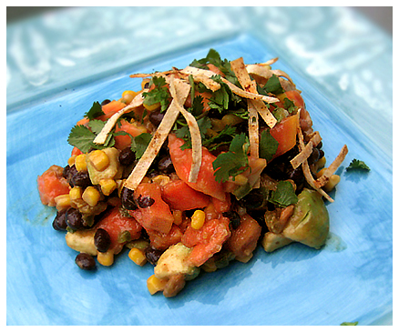 Tropical Black Bean and Corn Salad