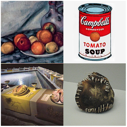 Food used in Art