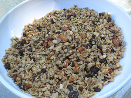 Terry Walters' Maple Nut Granola (from the cookbook Clean Food)