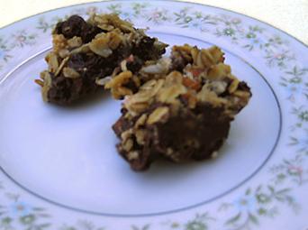 Terry Walters' Chocolate Coconut Granola Bites