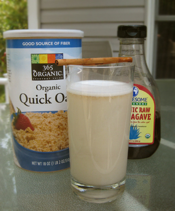 Horchata (Sweet Cinnamon Flavored Oatmeal Drink from Marcela Valledolid)