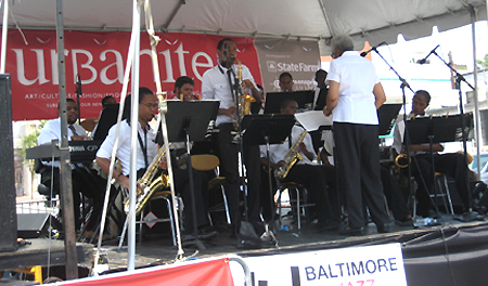 The Baltimore Polytechnic Institute Band