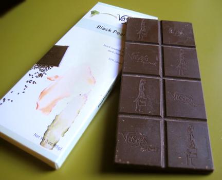 Vosges Haut Chocolate's Black Pearl Bar