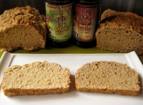 Beer Bread Faceoff, Flying Dog Brewery beers