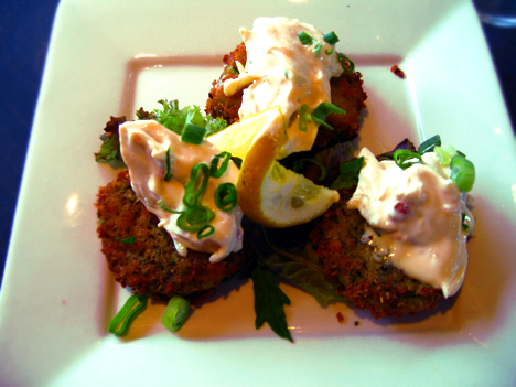 Fried Green Tomatoes from The Shark in Ocean City, MD