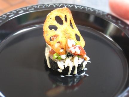 Talara's Asian Tuna Tartar with White Truffle Wasabi Mayo