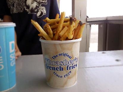 Thrasher's Fries, Ocean City, MD