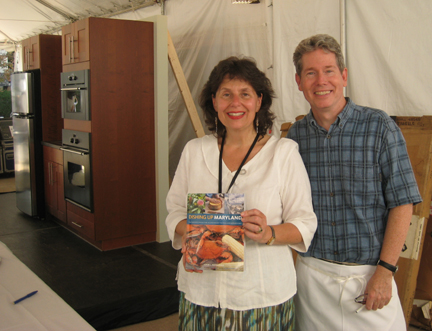 Lucie Snodgrass, John Shields, Dishing Up Maryland cookbook