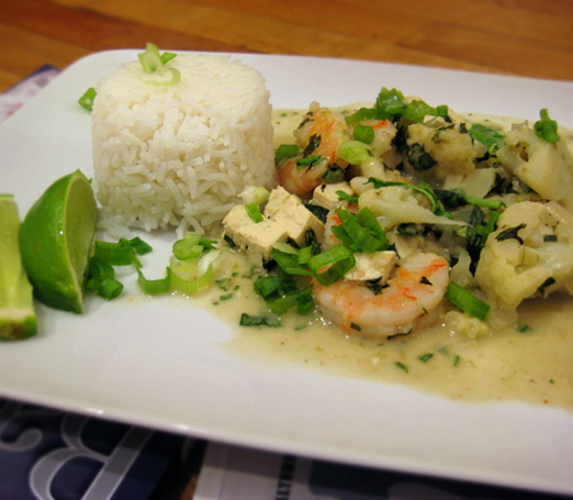 thai green curry thai green curry with king prawns braised thai green ...