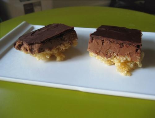 Peanut Butter Krispy Bars, Top Chef Just Desserts