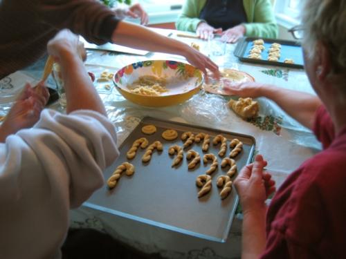 Rolling Italian Cookies