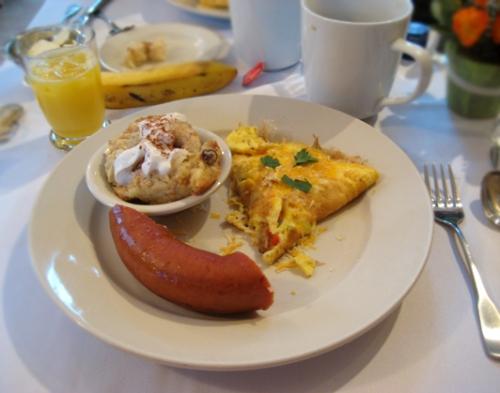 Breakfast at Carmel Cove Inn, Deep Creek Lake
