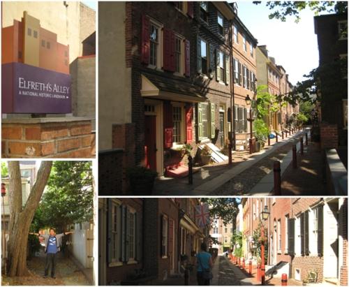 Elfreth's Alley in Philadelphia, America's Oldest Residential Street