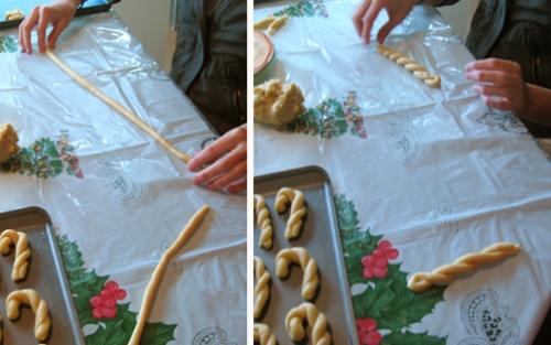 Shaping Italian cookies