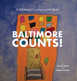 Baltimore Counts! Book, Holland Brown Books