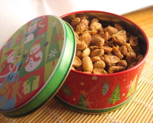 Sugar and Cinnamon Nuts