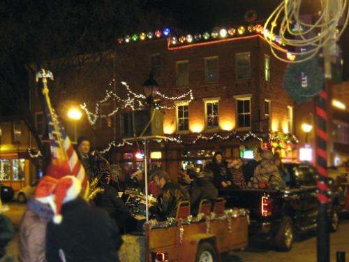 East Baltimore Christmas, the band