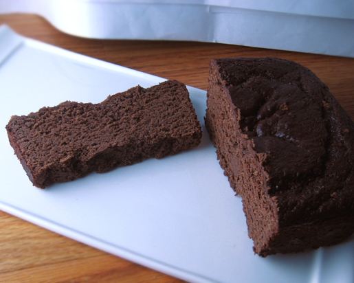 about this lovely and oh so delicious chocolate chickpea cake