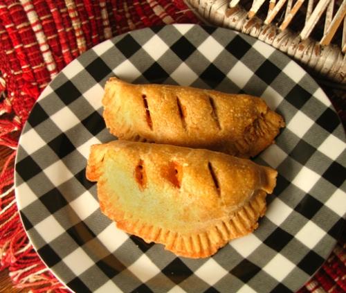 Sweet potato and black bean empanadas