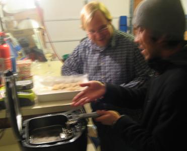 Shrimp frying station 2