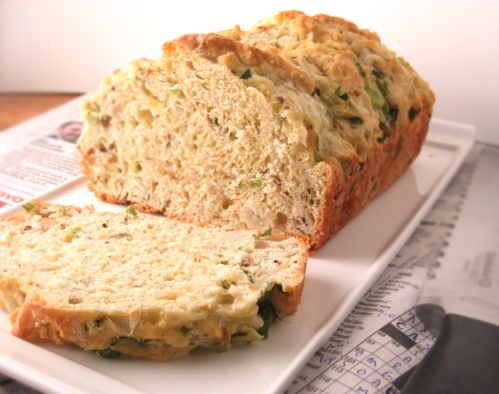 Savory Cheese and Scallion Bread, Around my French Table, Dorie Greenspan