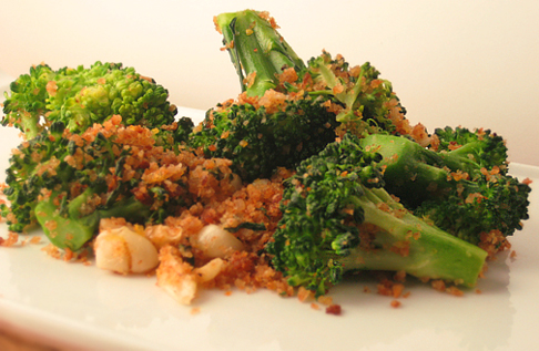 Garlicky, Crumb-Coated Broccoli, French Fridays with Dorie
