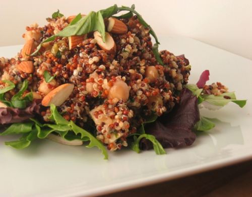 Quinoa Salad, French Fridays with Dorie