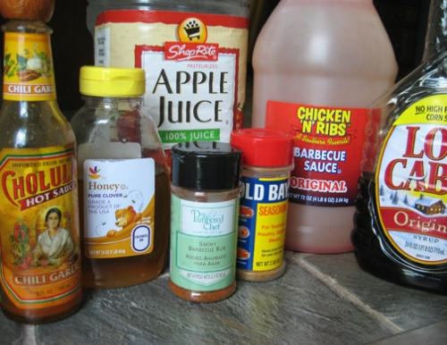 Barbeque Sauce Ingredients