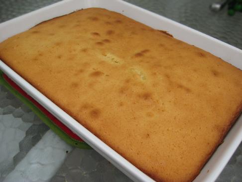 Buttermilk yellow cake