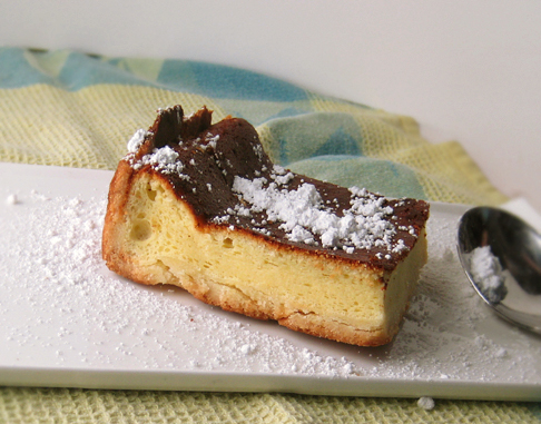 Torteau de chevre, goat cheese cake, Dorie Greenspan