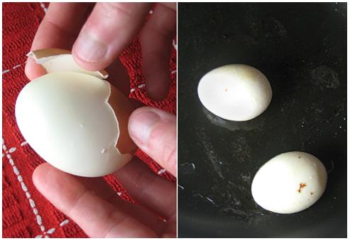 Peelin a 6 minute egg