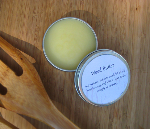 Wood Butter, Cleaning Wooden Utensils