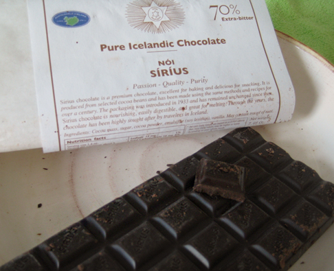 Noi Sirius chocolate from Iceland