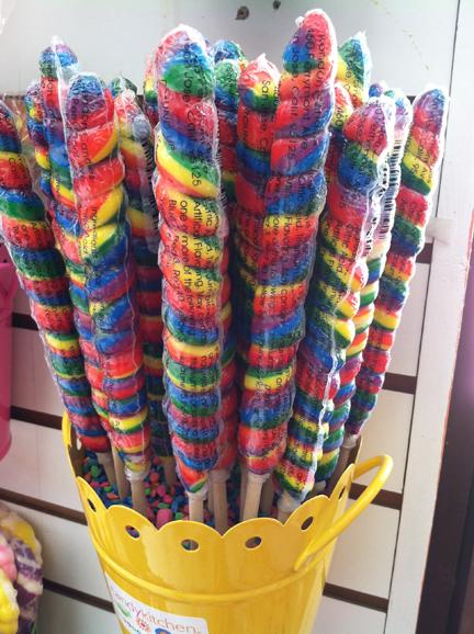 Ocean City, Candy Kitchen lollipops
