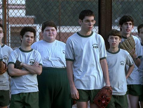 Freaks and Geeks softball scene