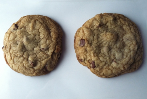 Chocolate chip cookies from Cook's Illustrated